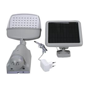Lampe 45 led a nergie solaire avec detection de mouvement - Lampe a detection de mouvement ...