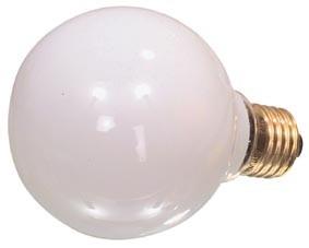 Sylvania globe 80mm 230v 60w satin e27 60w - Ampoule gros diametre ...