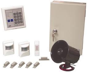 Syst me d 39 alarme filaire alarm hs02 for Systeme d alarme pour garage
