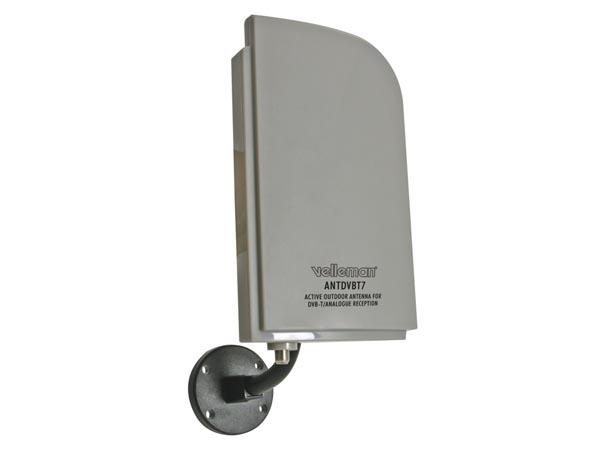 Antenne d 39 ext rieur active pour r ception tnt analogique for Antenne rateau tnt exterieur