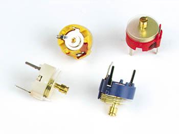 Condensateur Ajustable 2 10pf Jaune