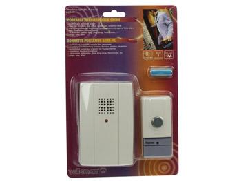 Sonnette portative sans fil db3 - Sonnette sans fil sans pile ...