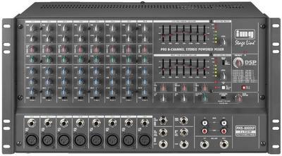 table de mixage amplifiee